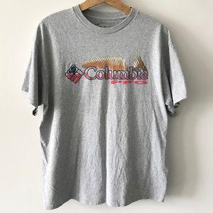 Columbia Sportswear Gray Short Sleeve Shirt Tee H